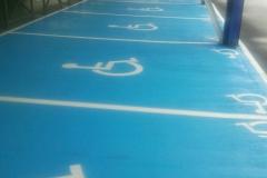 Places handicapé